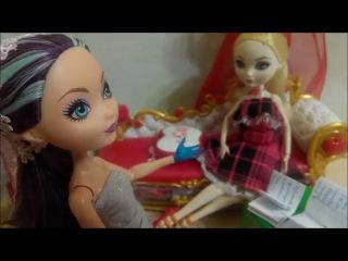 2 глава. Школа долго и счастливо. Эвер Афтер Хай. Мультики для девочек. Играем в куклы. Стоп моушен
