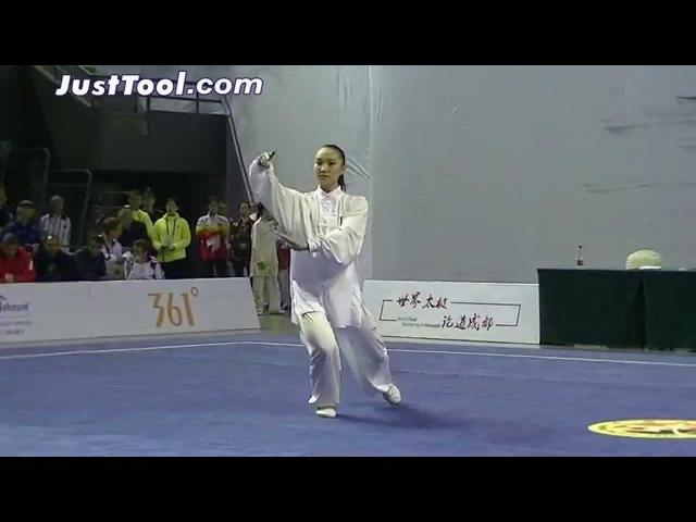 1st World Taijiquan Championships (2014) - Women's Group A Yang Style Taijiquan - 1st Place CHN