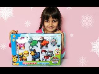 Щенячий патруль Обзор игрушек Видео для детей Paw patrol Liza playing with toys