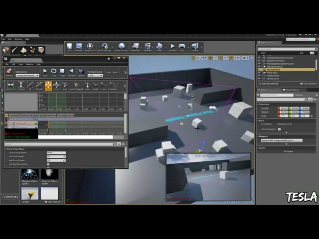 Unreal Engine 4 Tutorial - Create a Cutscene