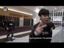 [VIDEO] 151225 #EXO #LAY MAMA 2015 Backstage - Hello From SHINee, f(x), EXO,  TTS!