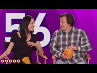 Интервью Анджелины Джоли-Питт и Джека Блэка для «Chatter. PEOPLE!»