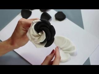 Мастер класс по созданию розы из фоамирана от Марины Мартьяновой