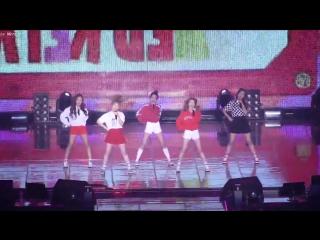 151025 Lotte Duty Free Family Concert| Red Velvet - Dumb Dumb [Fancam]