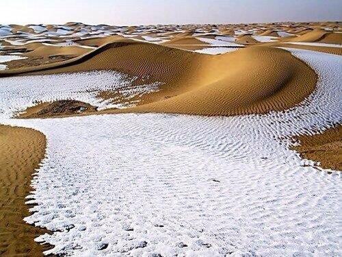 Снег в Сахаре, 1979 г.