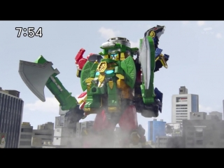 Super Sentai / Сюрикэнный Отряд — Нининджеры / Shuriken Sentai Ninninger 04, озвучка DJ KIRO