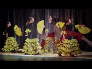 EL RITMO DEL FUEGO Коллектив испанского танца фламенко Елены Мурашовой