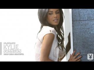 Playboy.com Playmate Kylie Johnsons