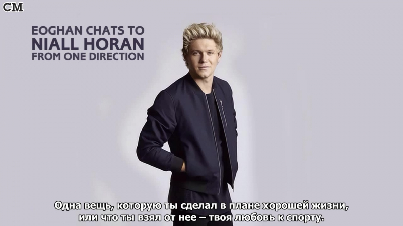 Eoghan Chats To Niall Horan From One Direction by RTE [RusSub]