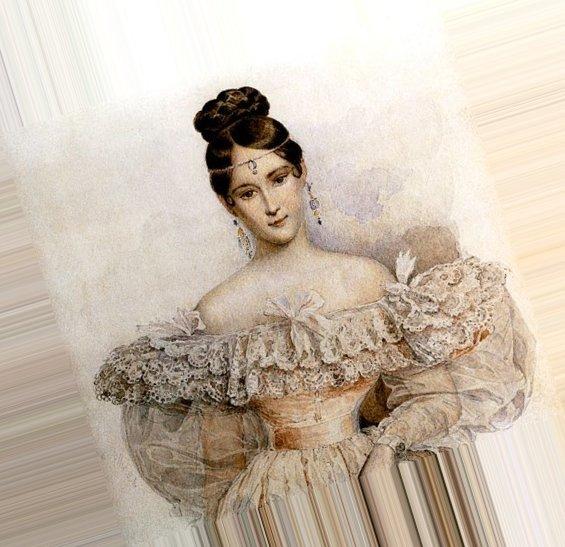 Причёски на бал 19 века