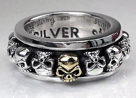 Куплю кольцо серебряное мужское.