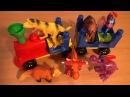 ДИНОЗАВРИКИ. Мультфильмы про динозавров на русском языке. Мультики для малышей. Мультфильм для детей