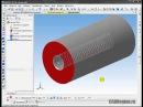 Нарезание внутренней метрической резьбы в САПР Компас 3D