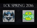 LZ vs JinAir G1 Longzhu Gaming vs JinAir GreenWings G1 14.01.2015 LCK Spring 2016