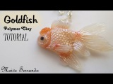Polymer Clay Red Cap Oranda Goldfish Tutorial Maive Ferrando