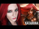 KATARINA SCAR MAKEUP TUTORIAL League of Legends