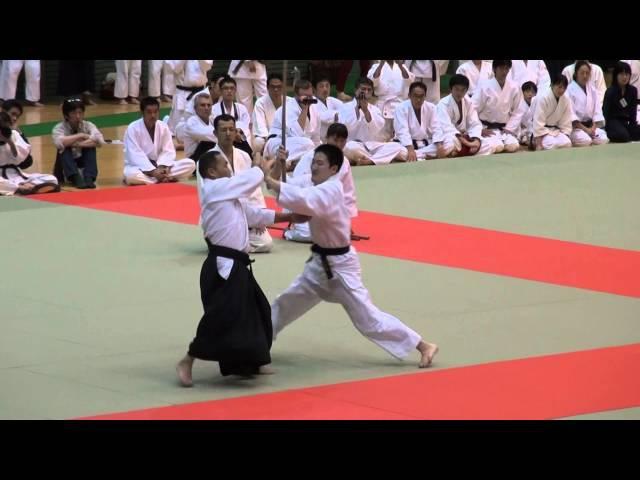 第60回演武会 養神館 合気道 龍 安藤先生-2015 Demo Yoshinkan Aikido Ryu Ando sensei