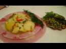 Картофель по деревенски Рецепт как приготовить блюда из картошки ужин домашние классический видео