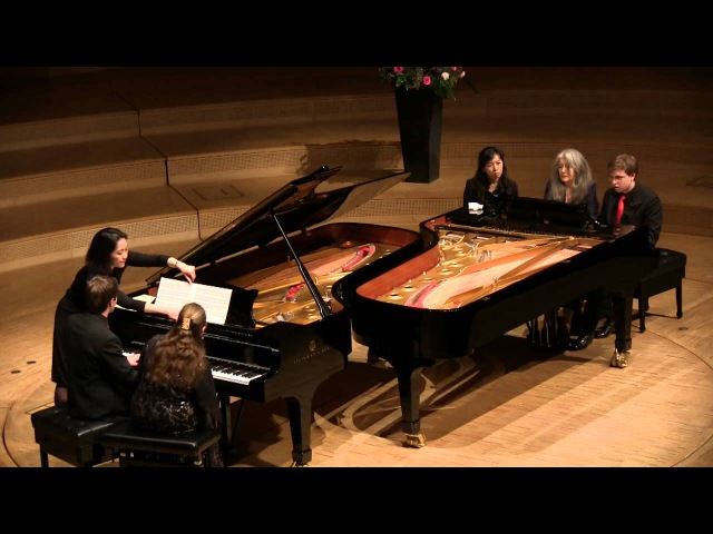 Smetana Sonata and Rondo Argerich Zilberstein D A Gerzenberg