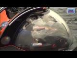 Путин погрузился в батискафе на дно Черного моря в Крыму | ВИДЕО