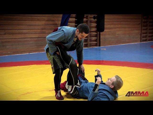 Школа боевого самбо с Игорем Исайкиным и 4MMA болевые на ноги (ахилл и рычаг колена)