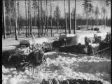 №37-1 20.03.1942 Лесоповал-фронту. Работа прачечной. Колонна из 500 лошадей
