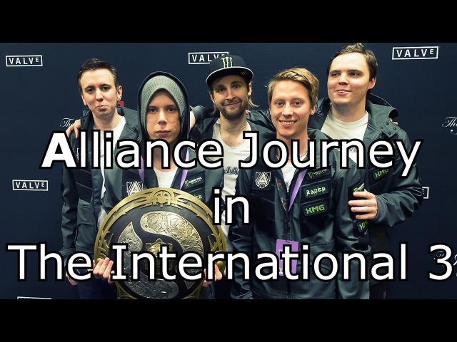 Alliance Journey in The International 3 [MOVIE] Dota 2 - by widdz