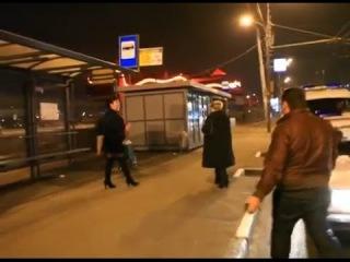 Давидыч гоняет проституток в Москве