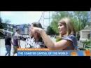 Natalie, Jenna Bush Hager go roller coaster riding