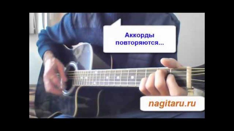 Здравствуй , чужая милая - Аккорды в Em и гитарный бой