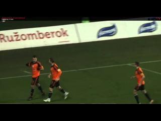 Gagik Daghbashyan's (MFK Ružomberok) double vs ŽP Šport Podbrezová 3:2 (1:0)
