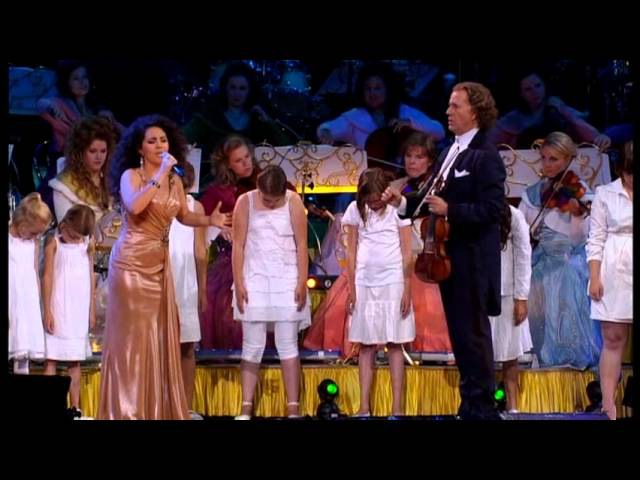 Michael Jackson Tribute - André Rieu And Carmen Monarcha Performing Ben and Earth Song