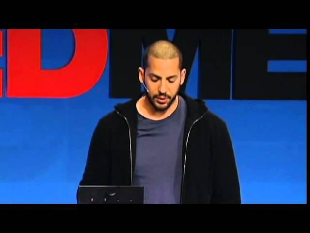 Выступление Дэвида Блэйна на TED озвучено