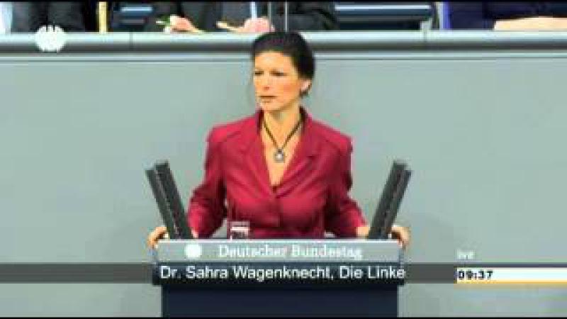 Sahra Wagenknecht ► Amerika muss bestraft werden ► Sanktionen gegen USA ►Rede Bundestag 2015