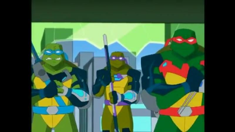 Мутанты черепашки ниндзя. Новые приключения!/Teenage Mutant Ninja Turtles (2003 - 2009) ТВ-ролик (сезон 6)