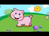 развивающие мультики для самых маленьких Животные на английском