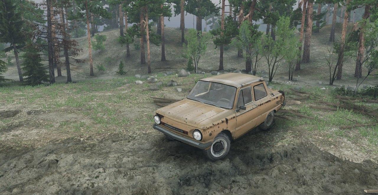 ЗАЗ 968М версия 0.2 test для Spintires - Скриншот 3