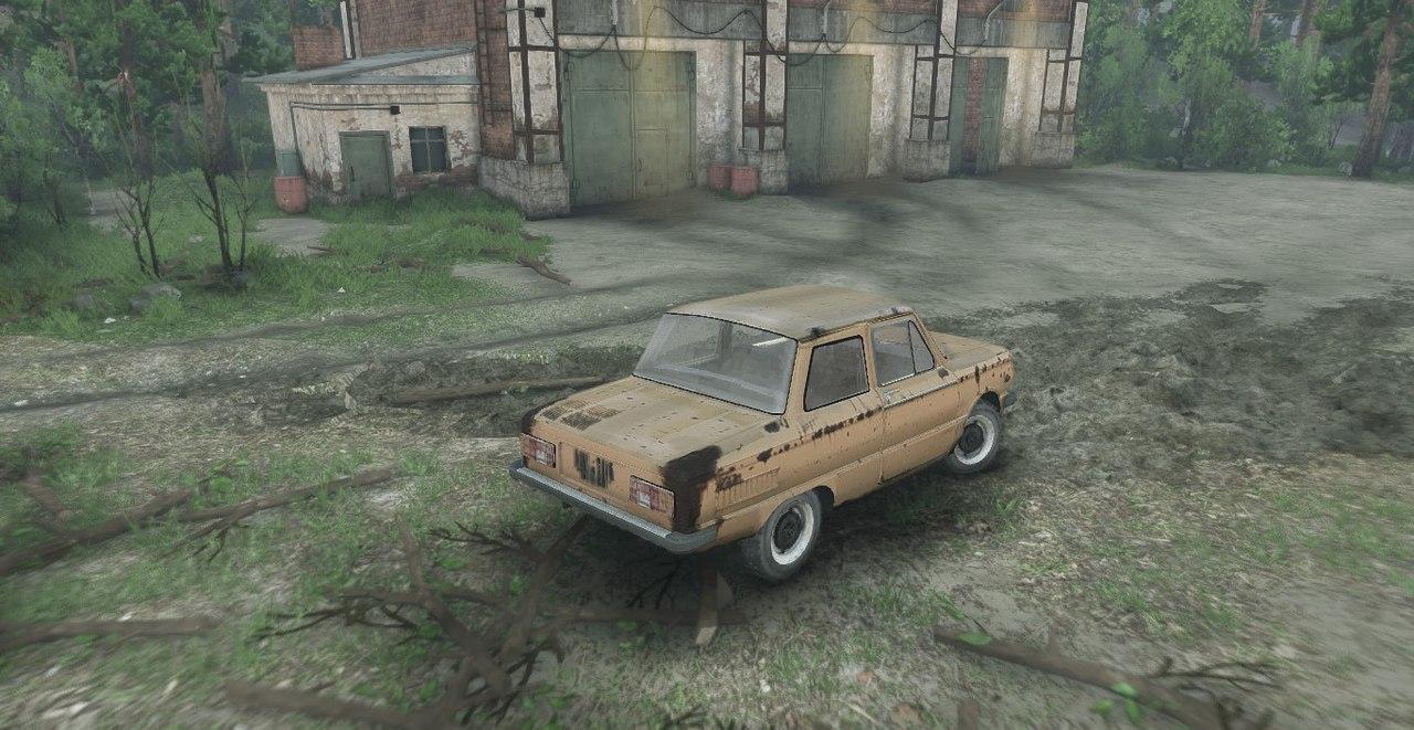 ЗАЗ 968М версия 0.2 test для Spintires - Скриншот 2