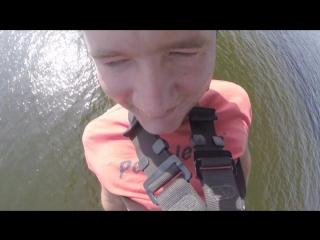 Прыжок с моста камера на шлеме видео № 3