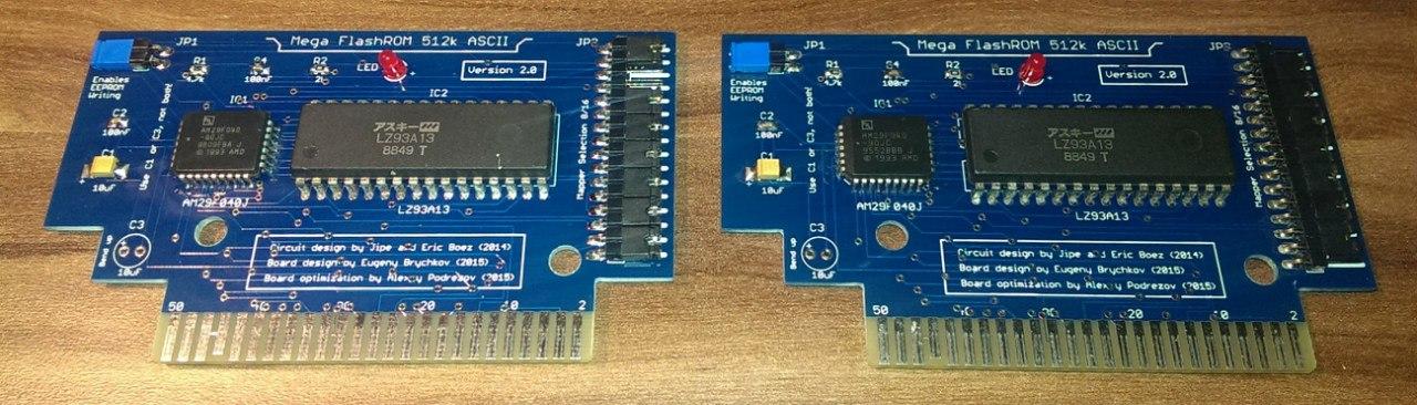 FlashROM cartridge 512kb with ASCII mapper | MSX Resource Center