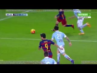 Барселона 6  - 1 Сельта | Обзор матча | Испания | Ла Лига | 24 тур | 2015/16 |14.02.2016| HD