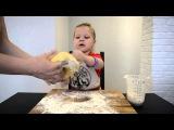 Вкусное печенье, готовим с ребенком. Посылки с aliexpress. Tasty cookies, cooking with child