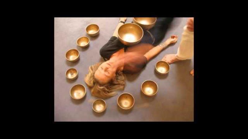 Тибетские чаши, очищение души, звуки для очищения дома.