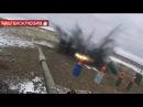 Как видит противник шквальный обстрел из минометов: эксклюзивные кадры