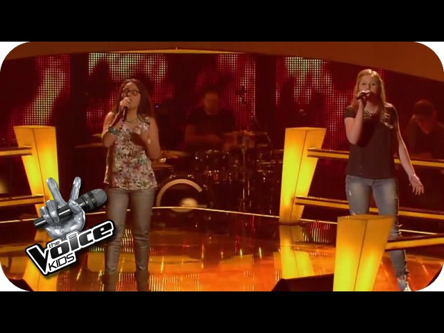 Ellie Goulding - Burn (Lena, Lara) | The Voice Kids 2014 | BATTLE | SAT.1