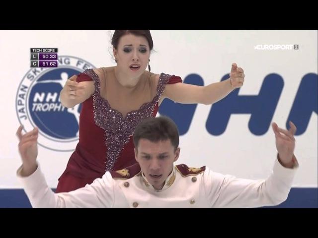 Ekaterina BOBROVA Dmitri SOLOVIEV - NHK Trophy 2015 - FD