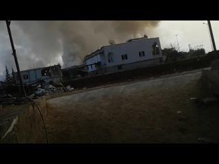 21.11.15 ВВС САР и ВКС России нанесли авиаудары в пров. Дамаск.
