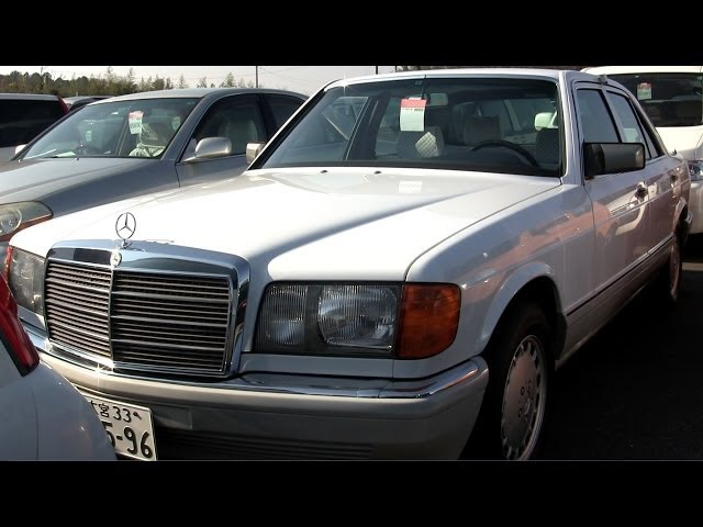 1989 Mercedes Benz 300SE 10K LHD - Japanese Car Auctions - Auto Access Japan