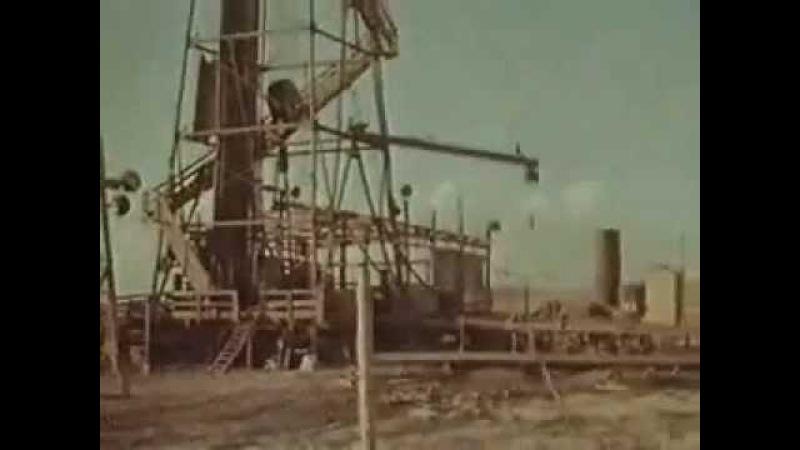 Тушение горящей газовой скважины ядерным взрывом 1963г
