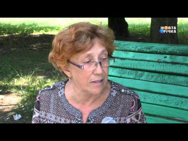Інтерв`ю з Любовью Гнядою про безпритульних собак в м Жовті Води